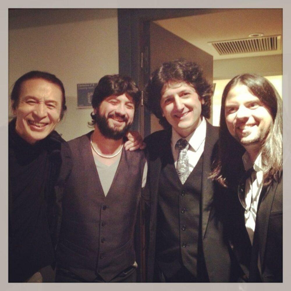 Chicuelo, Shoji Kojima, Juan Manuel Cañizares y Flavio Rodríguez