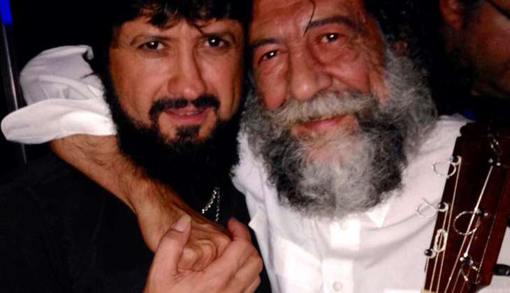 Chicuelo y Joaquín Sabina
