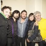 Chicuelo, Poveda, Blanca Portillo, Almodóvar y Fernando Tejero