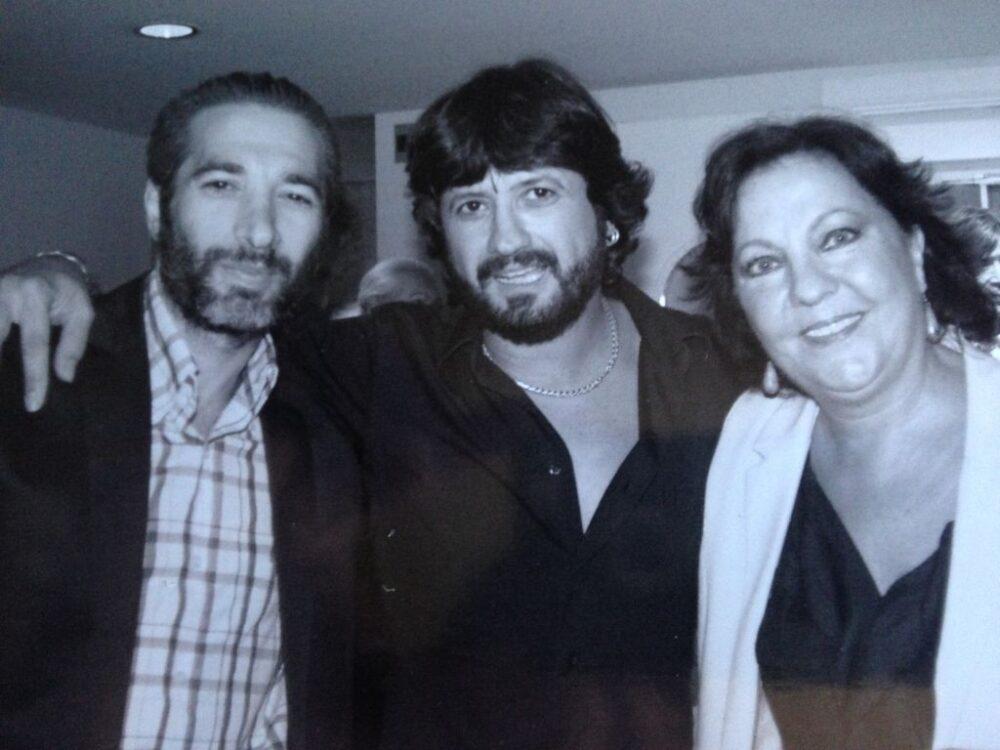 Israel Galván y Carmen Linares