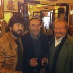 Chicuelo, Manolo Franco y Víctor Monge 'Serranito'