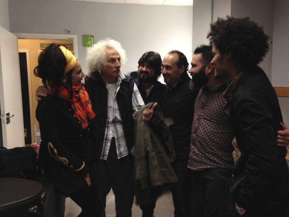 Marina Abad, Rafael Álvarez 'El Brujo', Javier Martín, David Domínguez, Carlos Sarduy