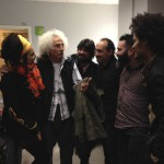 Marina Abad, Rafael Álvarez 'El Brujo', Chicuelo, Javier Martín, David Domínguez y Carlos Sarduy